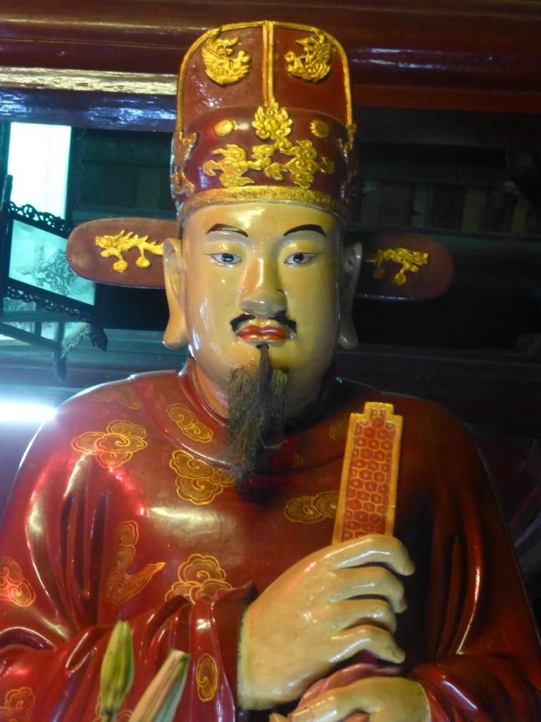 Vietnam Hanoï Confucius confucianisme temple de la littérature Un disciple de Confucius