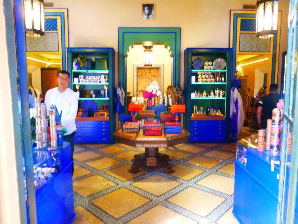 Bestglobe les couleurs du jardin majorelle marrakech - La boutique du jardin ...