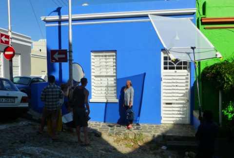 Shooting autour d'une star sud-africaine dans le quartier malais du Cap en Afrique du Sud
