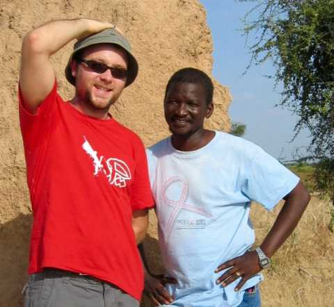 Julien Buot à Nyamina au Mali