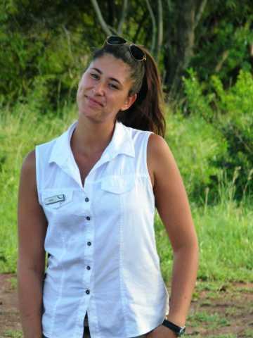 Afrique du sud Sade Peneff dans le bush sud-africain