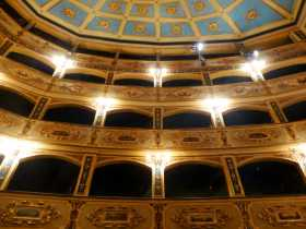 Malte La Valette Théâtre Manoel  salle concert opéra Un petit théâtre à l'italienne du XVIIIème siècle
