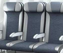 transport aérien, siège du milieu dans les avions en classe éco, un espace privé de plus en plus restreint
