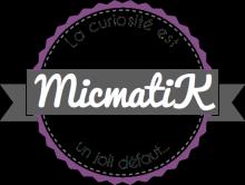 """blog de voyages bloggeuse """"La curiosité est un vilain défaut"""" le logo de micmatik.fr"""