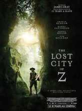 """Une affiche du film du réalisateur américain James Gray """"The lost city of Z"""" sorti en 2017"""