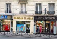 Un peu de l'Inde dans des immeubles haussmanniens près de la gare du Nord à Paris