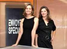 Le deux présentatrices d'Envoyé spécial