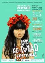 tourisme responsable voyages L'affiche du festival No Mad 2016 de Pontoise