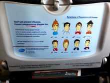 Virus vaccins grippe prévention voyages dissémination hygiène vaccins prophylaxie Information préventive prise dans un vol Firefly (pour le compte de Malaysia Airlines) entre Penang (Malaisie) et Phuket (Thaïlande) @OlivierNoyer