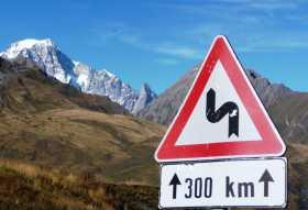 300 kms de routes de montagnes annoncées