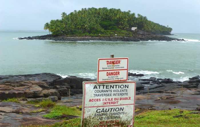 Guyane bagne Cayenne KourouGuyane bagne Cayenne Kourou  îles du Salut Toujours interdite aux visites et difficile d'accès, l'île du diable est celle où séjourna Dreyfus