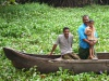 """Le Kerala (Inde) est célèbre par ses """"backwaters"""", dense réseau de canaux"""