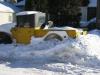 Une camionette sous la neige (Winnipeg, Manitoba, Canada)